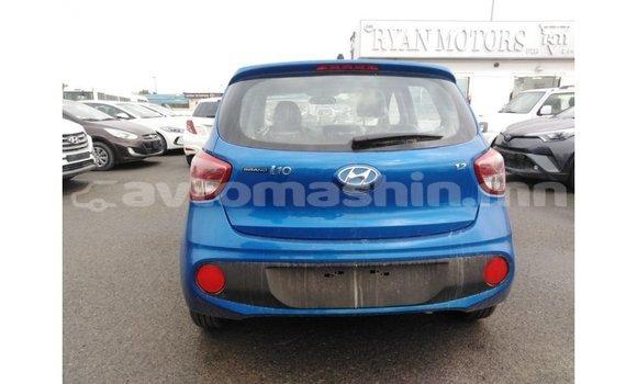 Buy Import Hyundai i10 Blue Car in Import - Dubai in Arhangaj