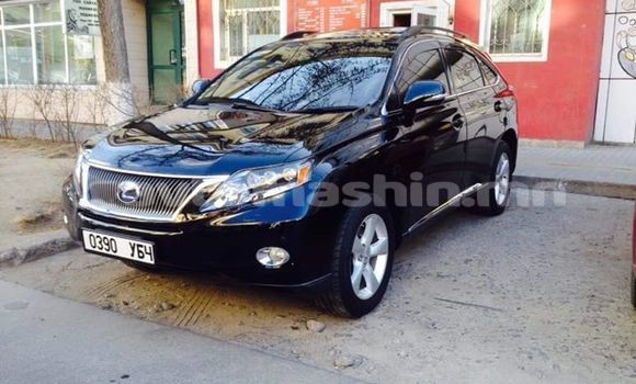Buy Used Lexus RX Black Car in Ulaanbaatar in Ulaanbaatar
